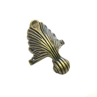 Ножка для шкатулки 47х35мм старое золото, 4 шт.