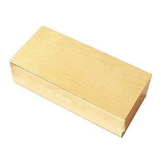 Шкатулка деревянная без замка 20х5,5х9 см,  Albero