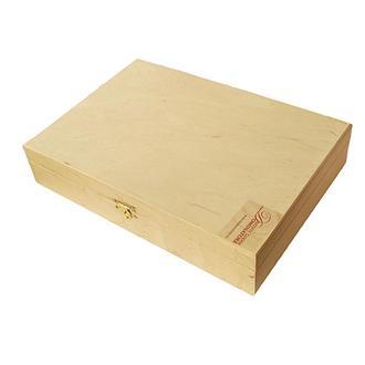 Шкатулка деревянная прямоугольная с замком 33х23 см Dominatore