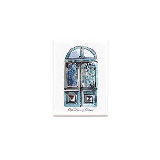 Магнітик «Одеські двері» (Зелені)