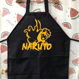"""ФА000169Фартук с принтом """"Naruto"""""""