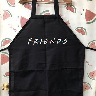 """ФА000208 Фартух з принтом """"Friends"""""""