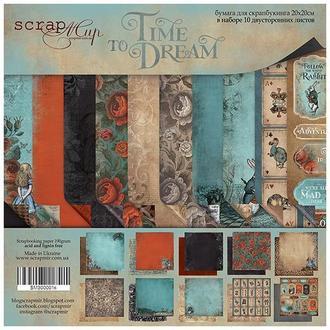 Бумага для скрапбукинга 20х20см Time to Dream 10 листов
