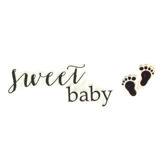 Штамп прозрачный Sweet Baby 68х20 мм