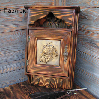 """Ключница деревянная """"Орел"""""""