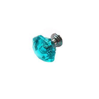 Ручка пластиковая прозрачная морская волна 24х24 мм