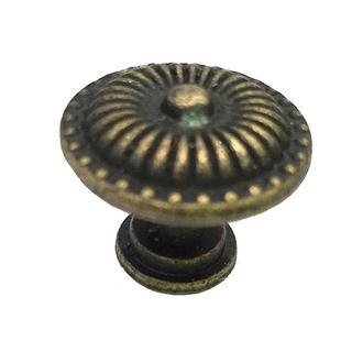 Ручка круглая 24х25 мм античная бронза