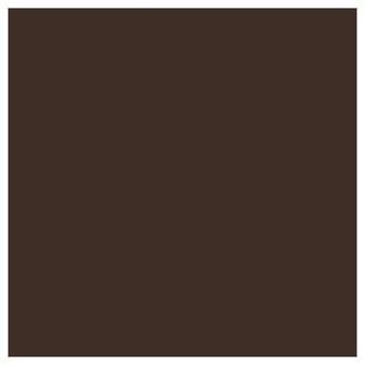 Фоамиран 20х35 см, темно-коричнеый