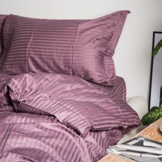 Постельное Sleeping Cat коллекция Лиловый страйп 100% хлопок