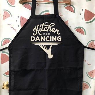 "ФА000248 Фартух з принтом ""Kitchen dancing"""