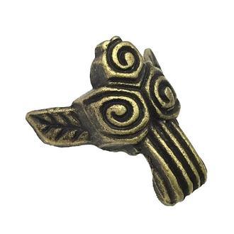 Ножка декоративная 33х28 мм античная бронза, 4 шт.