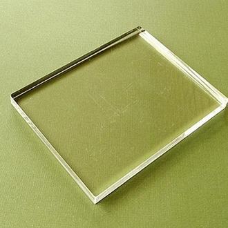Блок акриловый для штампов, 8 х 10.5 см