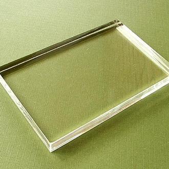 Блок акриловый для штампов, 6,5 х 6,5 см