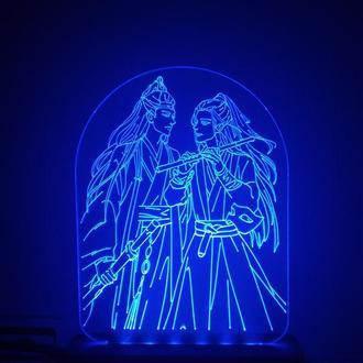 Светильник аниме Магистр дьявольского культа Mo Dao Zu Shi ночник