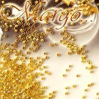 Стопперы круглые (бочечки) 1,5 мм, золото 5 гр.