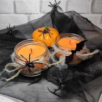 """""""Ужасно"""" красивые свечи в баночках на Хэллоуин"""
