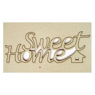 Чипборд Sweet Home 12х4,5 см