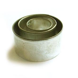 Набор круглых каттеров для полимерной глины, 3 шт.