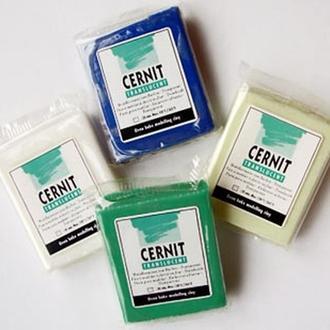 Моделин (масса для лепки) Cernit Translucent (прозрачный), 56 г
