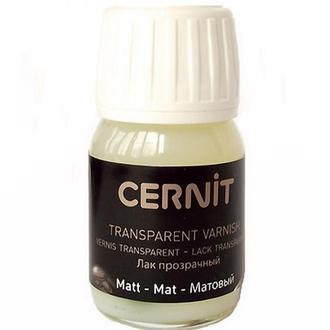 Лак матовый для полимерной глины (обжиг) Cernit, 30 мл