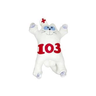Кот Саймон - врач скорой помощи .