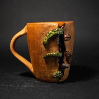 Керамическая чашечка для кофе / Чашечка хеллоуин