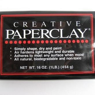 Масса самозатвердевающая Creative Paperclay  454 гр