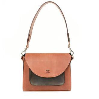Сумка Liv коньячно-коричневая винтажная