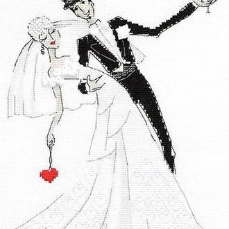 Набор для вышивки Свадебный вальс