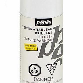 Лак акриловый аэрозольный глянцевый Pebeo, 200 мл 520230
