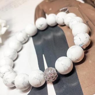 Браслет из натуральных камней,браслет из кахолонга, браслет на подарок, оберег