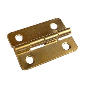 Петля 23х15 мм золото, 2 шт.