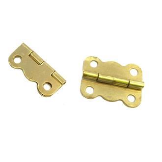 Петля фигурная 16х13 мм золото, 2 шт.
