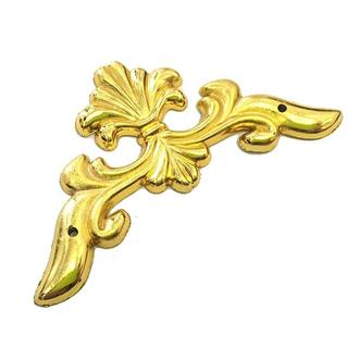 Накладка декоративная на угол 60х60 мм золото, 4 шт.