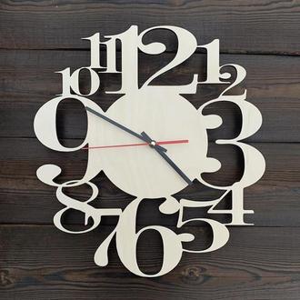 Настенные часы из дерева 35 см
