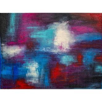 Картина абстракция 80Х60 холст, акрил
