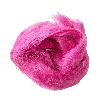 Льняное волокно для мокрого валяния, розовое № 20