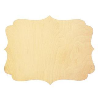 Заготовка для панно прямоугольная 20х28 см, фанера