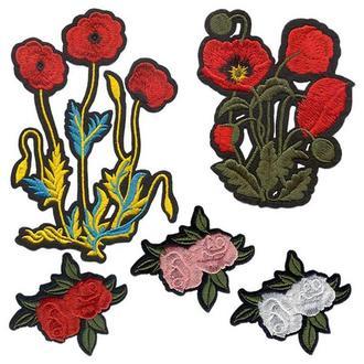 Аппликации на одежду Embroidery клеевые розы набор №7 (68616)