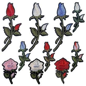 Аппликации на одежду Embroidery клеевые розы набор №8 (68617)