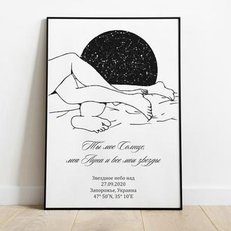 Карта звёздного неба 005