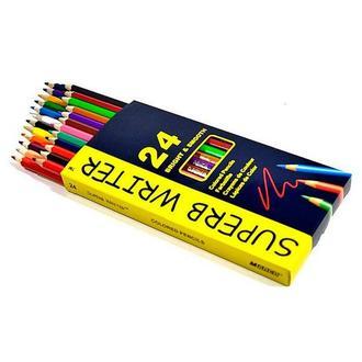 Набор цветных карандашей Marco Superb Writer, 24 цв.