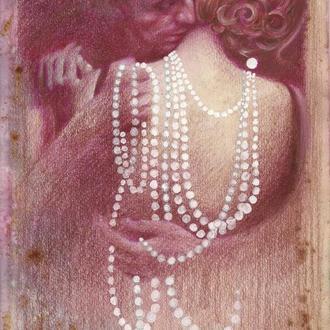 В ритме танго. Рисунок, ручная работа, 2020г Автор - Мишарева Наталья