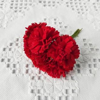 Хризантема тканинна Ø 35-40 мм 6 шт