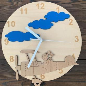 Детские настенные часы 30 см