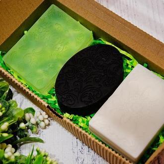 Мыло для лица и тела. СПА набор в подарочной упаковке