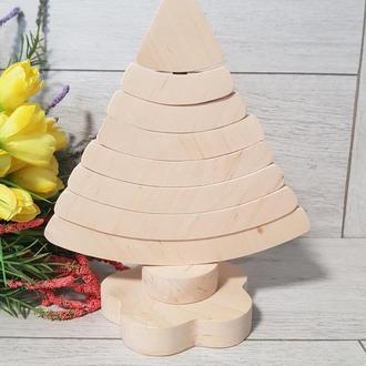 Деревянная пирамидка Пирамидка радуга Радуга для игры и развития