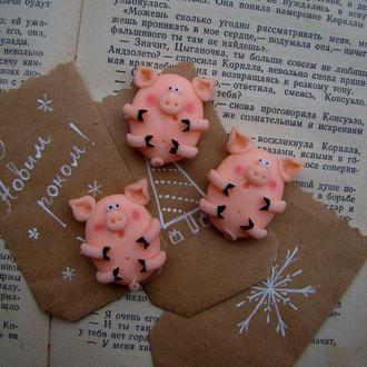 Магнит сувенир символ года, год свиньи