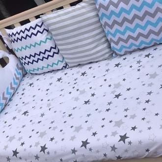 Бортики в кроватку.Комплект в кроватку.