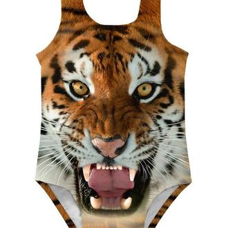 Детский купальник Тигр